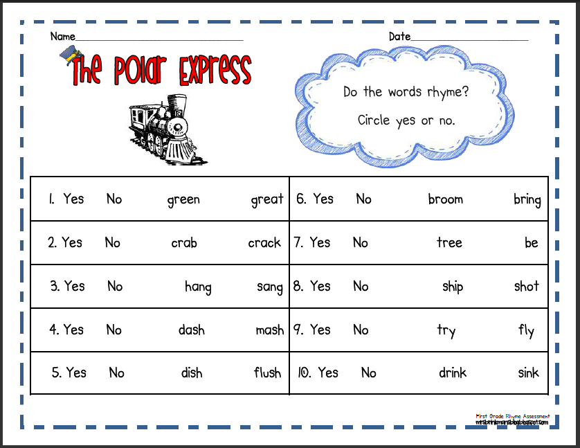 Mrs Brinkmans Blog The Polar Express – Polar Express Math Worksheets