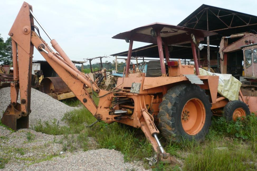 Used Case Backhoe Parts : Sheng weng heavy equipment parts trading used case