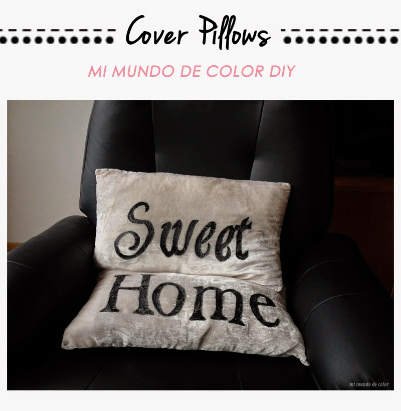 diy cover pillows