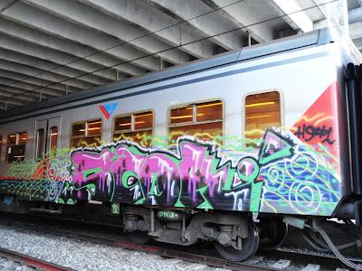 Art on trains