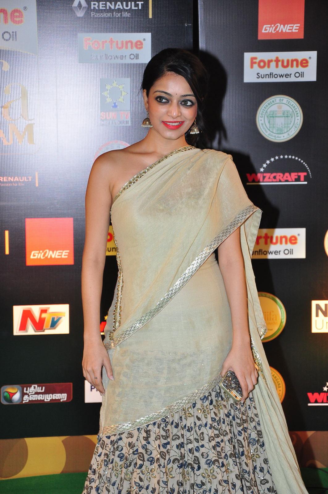 janani iyer glamorous in saree-HQ-Photo-16