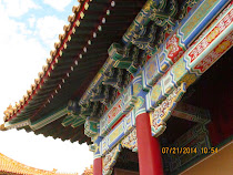 Roof overhang detail, Forbidden City, Beijing, China