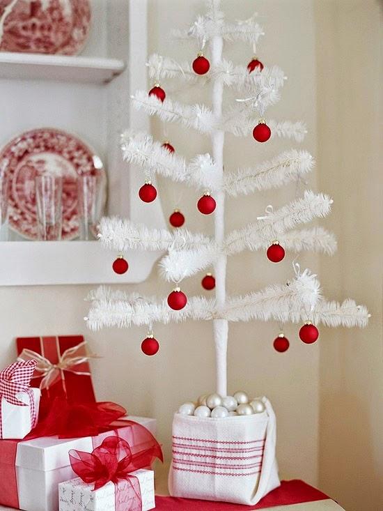 Rboles de navidad peque os colores en casa - Arboles de navidad pequenos ...