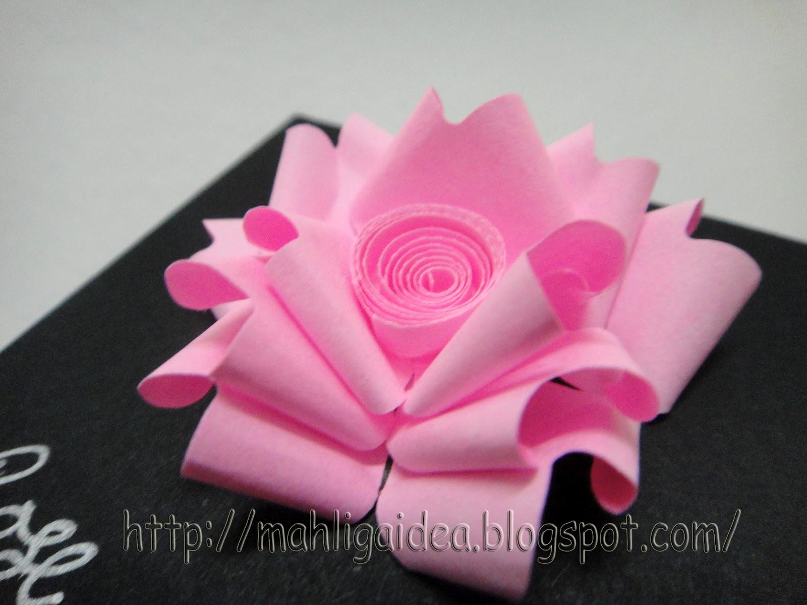 Mahligai Idea Quilled Flower 1 Roses