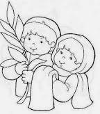 Dibujos para Semana Santa