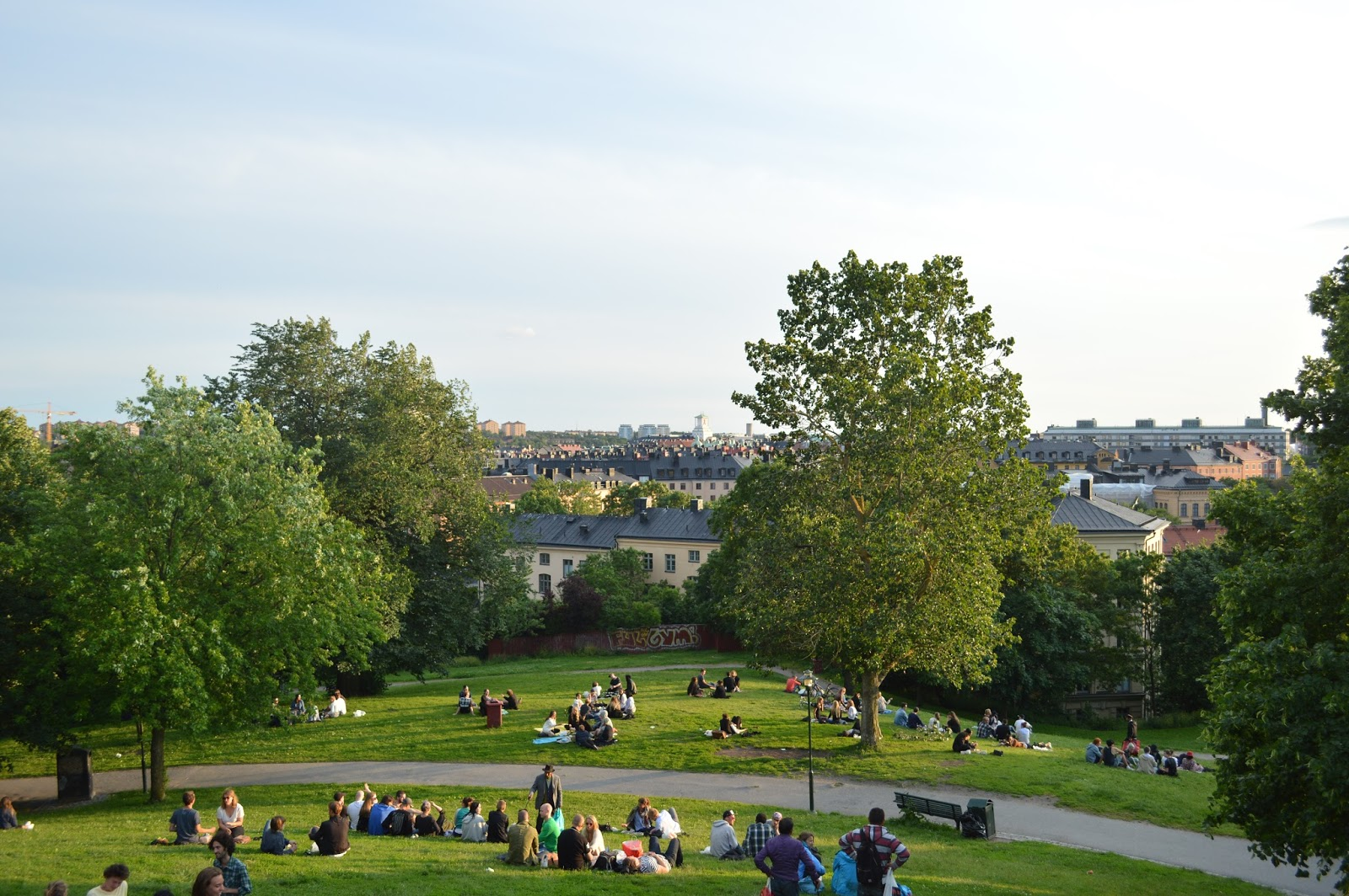 Where to hang out in Sodermalm, Vita Bergen park, Stockholm