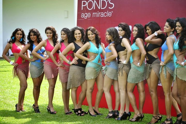 sri lankan models in bikini
