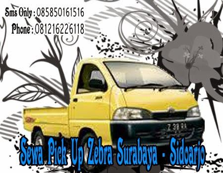 Sewa Pick Up Zebra Surabaya - Sidoarjo
