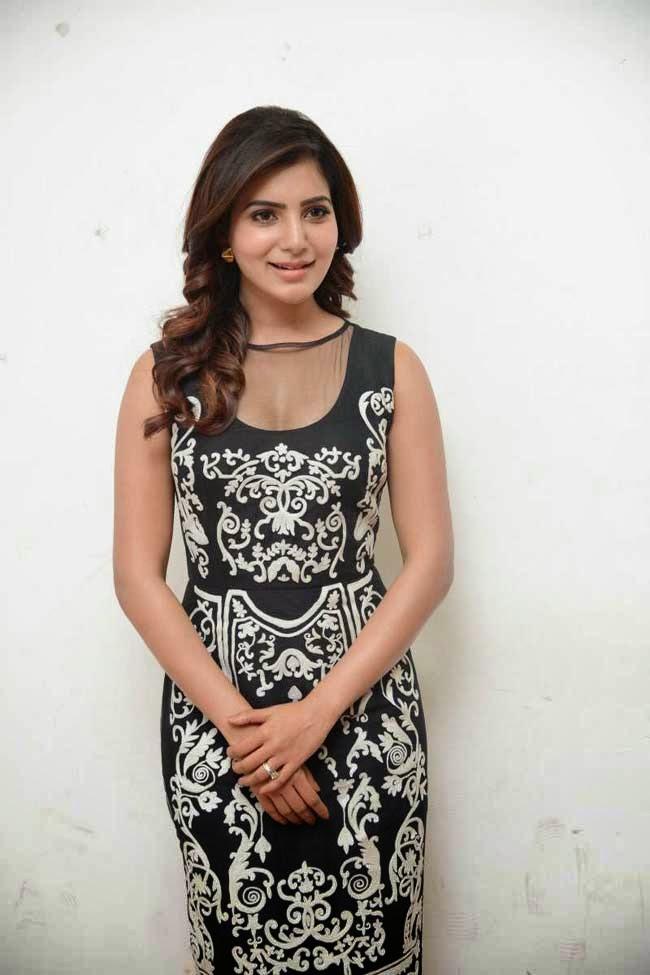 Actress Samantha at Autonagar Surya Movie Press Meet
