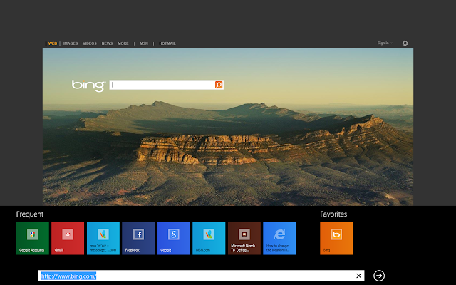 IE 10 In Windows 8