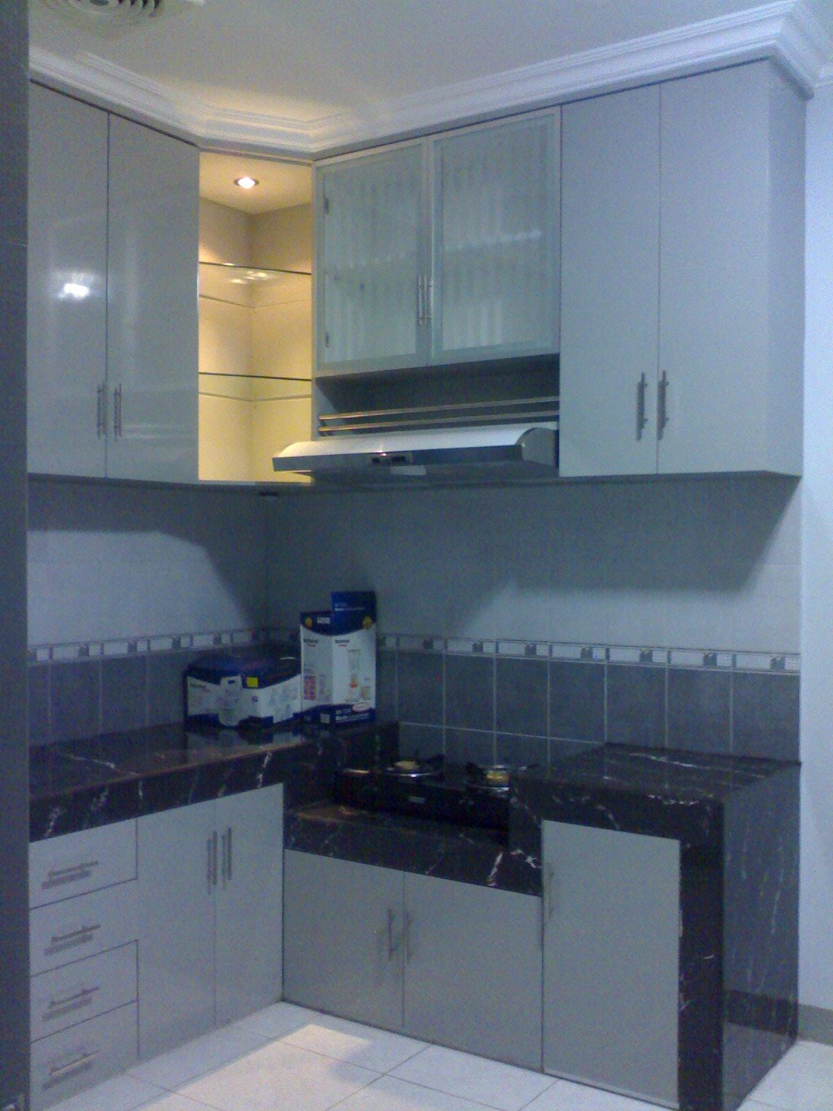 Inti jaya furniture for Kitchen set mungil