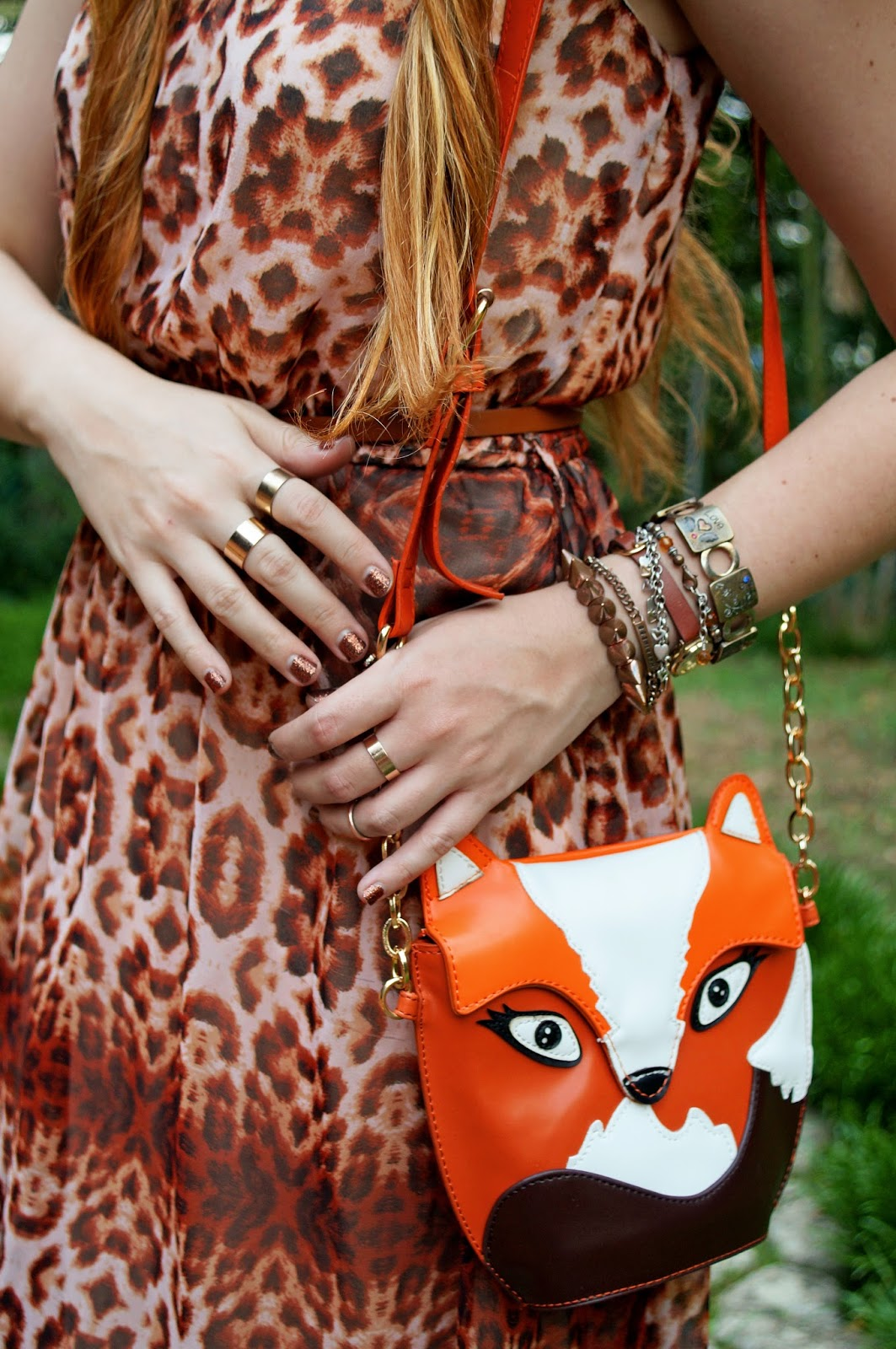 Fox Purse, Chic Accessories