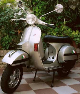kopler boss  Vespa PX 150 faced Italian