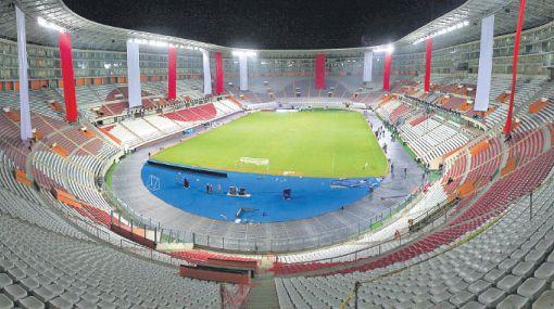 Estas conforme como pusieron los laureles deportivos en el for Puerta 9 del estadio nacional de lima