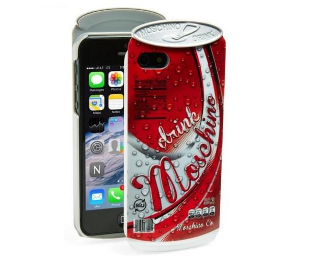 Funda para iPhone con forma de lata de gseosa