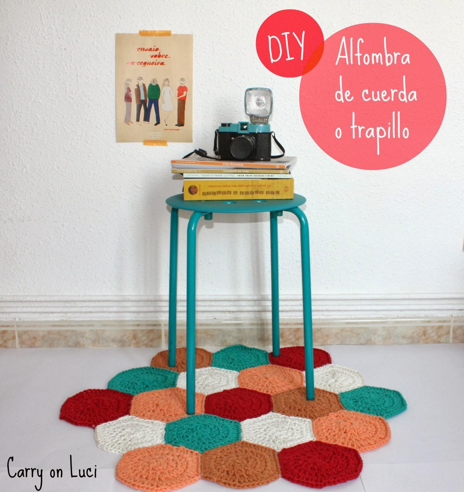 alfombra trapillo tutorial