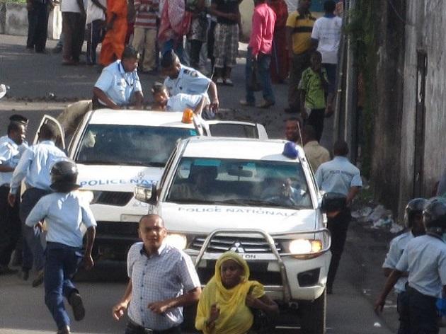 Sept personnes interpellées par la police au QG de Juwa