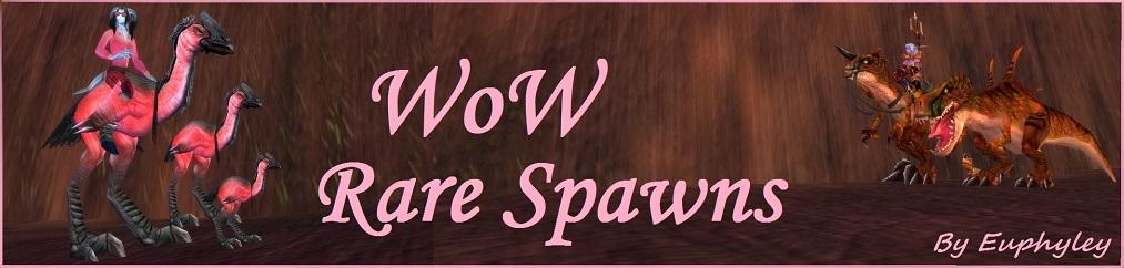 WoW Rare Spawns