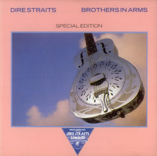 Portada del single Brothers in arms de Dire Straits