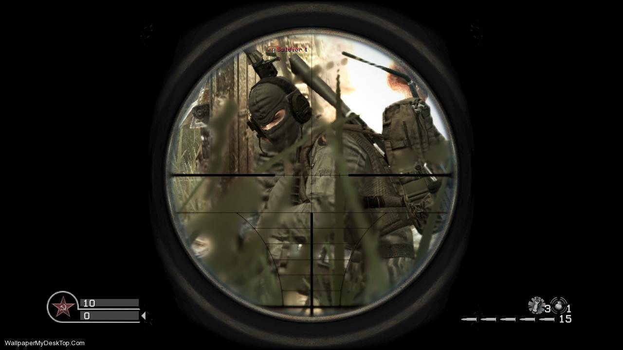 Call of Duty Sniper Scope