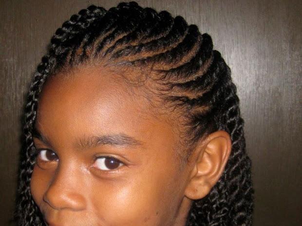 cute braided hairstyles black