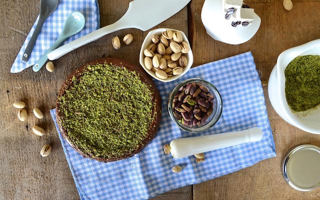ricetta torta ricotta cioccolato pistacchi