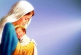 Mother Mary Desktop Wallpaper