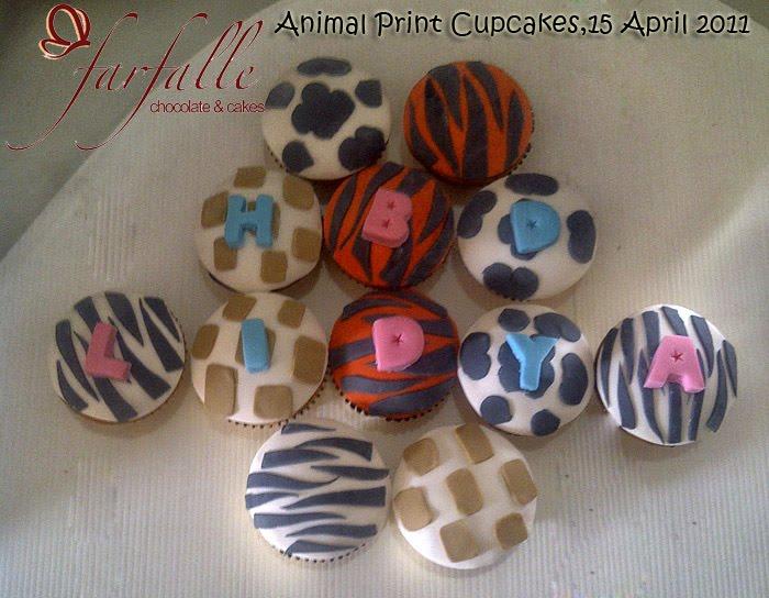 animal print cakes. Animal Print Cupcakes