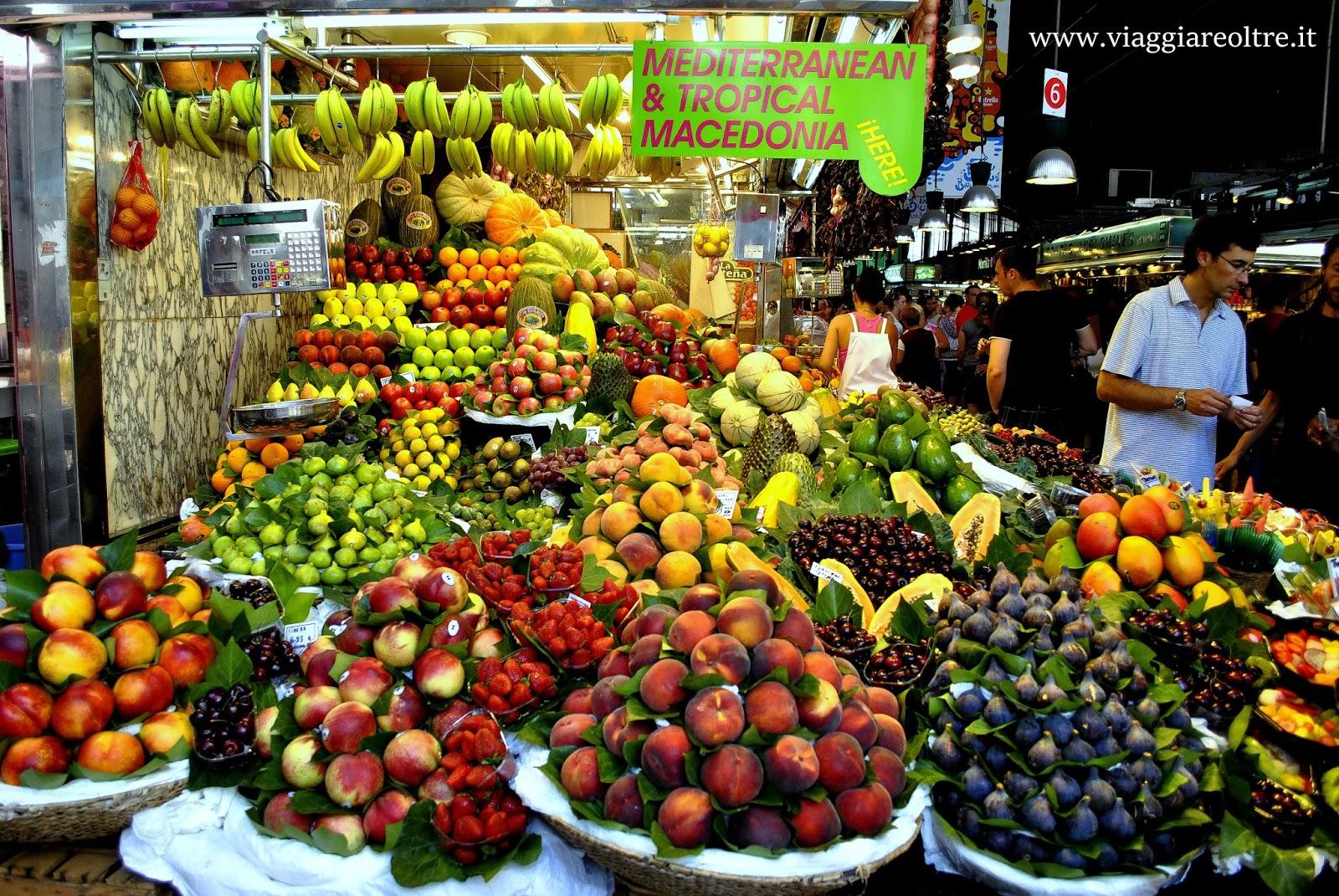 Barcellona e il mercato della boquer a viaggiare oltre for B b barcellona vicino ramblas