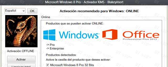 Activador Windows 8 Loader v4.1 - [Offline & Online RTM 32 & 64 Bits]