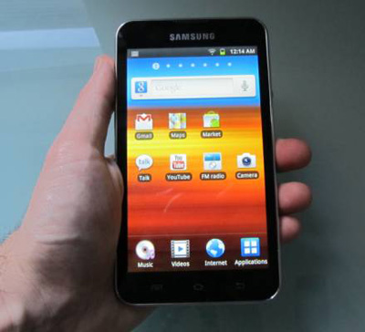 Samsung Galaxy Player 5.0 First Look Video