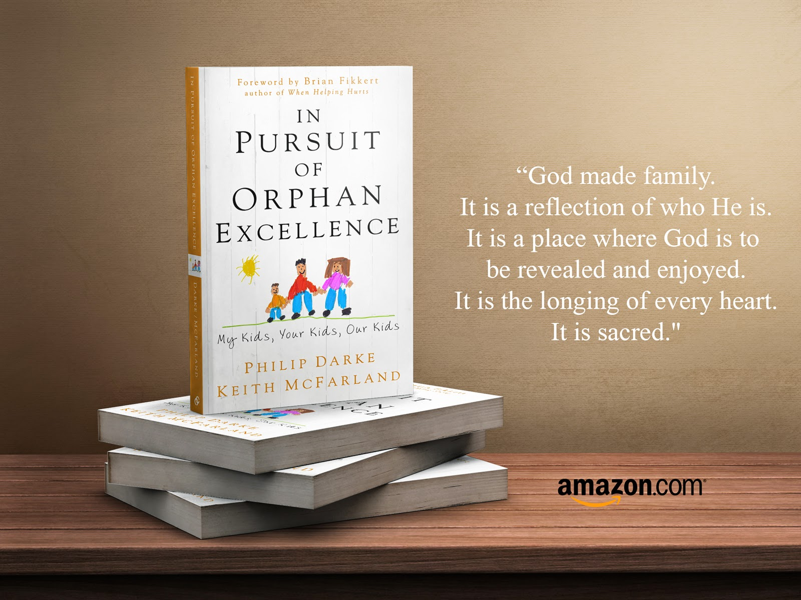 """This is by far the best book on orphan care out there."" Dan Cruver, Together For Adoption"