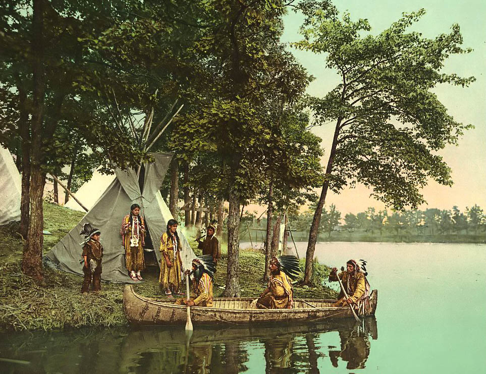 the indian camp Discover the life, culture and relationship between the lenape indians and american fur traders.