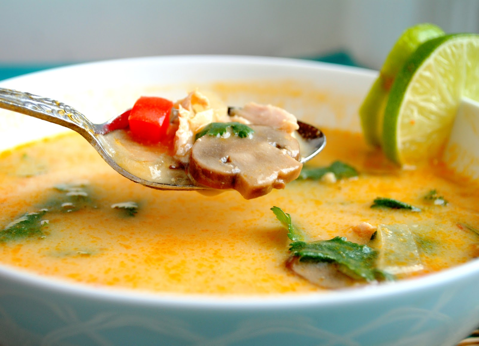 soup 20 minute thai red curry noodle soup with chicken burmese coconut ...