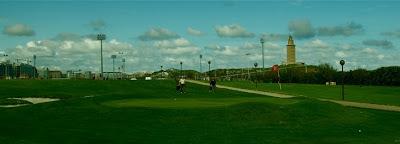 Golf Torre Hercules sede Campeonato España Senior de Pitch & Putt