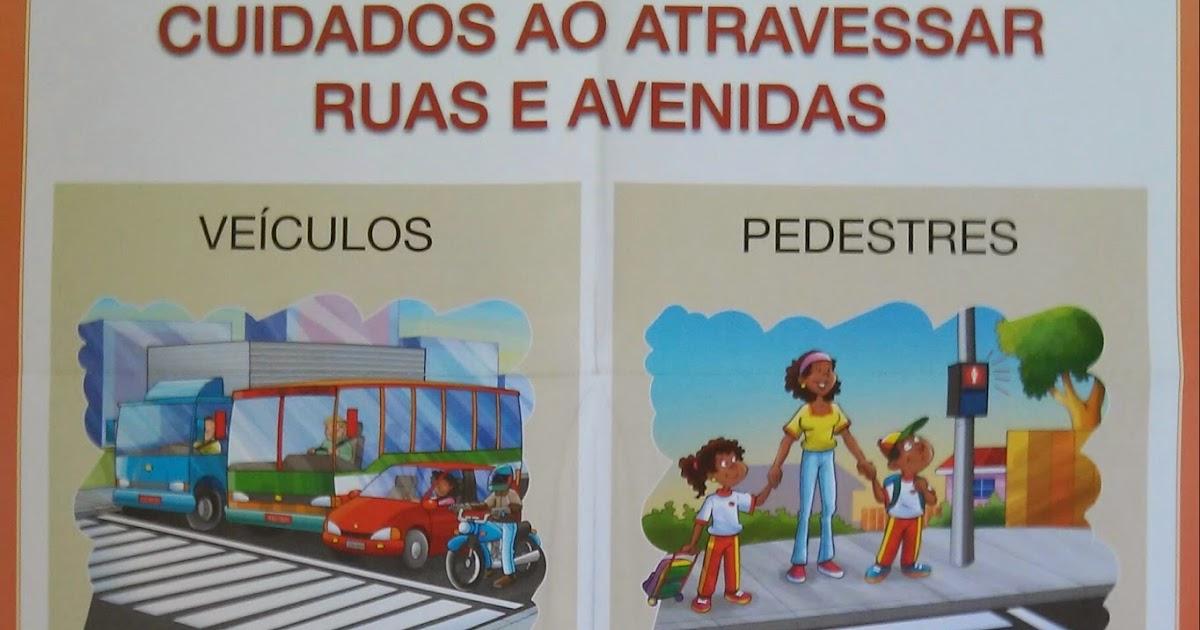 Arte de educar cartaz sobre o tr nsito for Mural sobre o transito