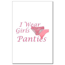 i wear girls panties - all day every day & Mistress Cassie has me on a color schedule.