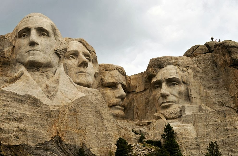 Anderson layman 39 s blog 12 15 13 12 22 13 for Mount rushmore history facts