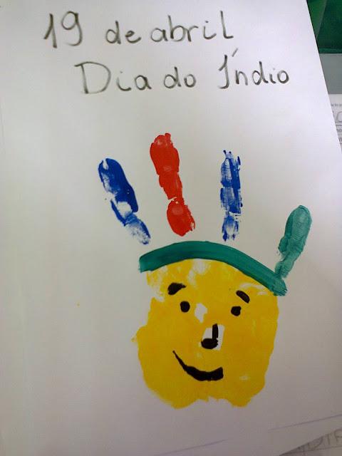 atividade educação infantil dia do indio