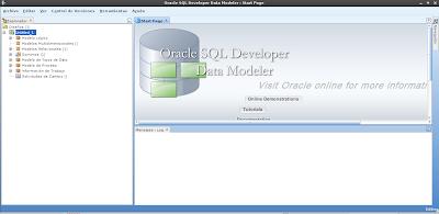 Imagen de Data Modeler en Debian Squeeze