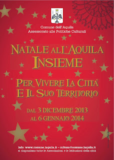 "Cartellone ""Natale all'Aquila Insieme"""