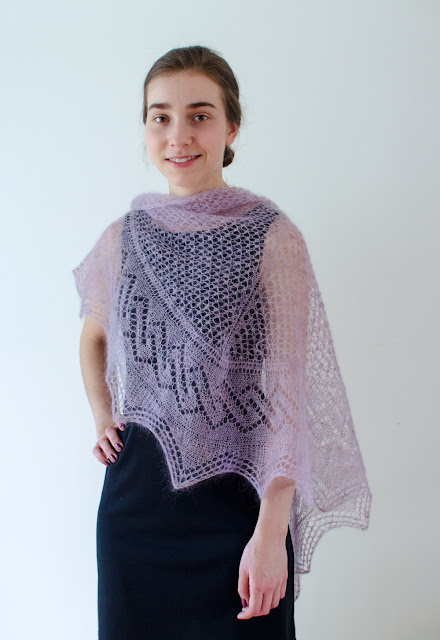 Tracery Shawl by Katya Frankel
