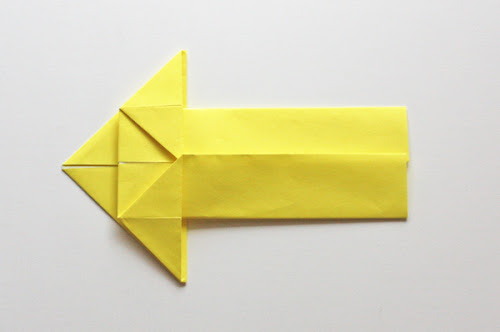 How to make origami arrows