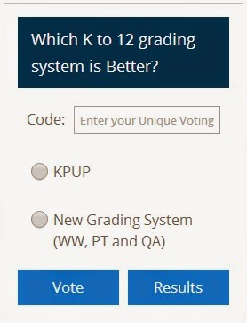 Which K to 12 grading system is better? KPUP or WW-PT-QA
