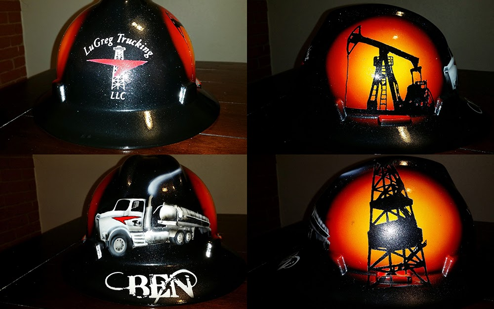 custom trucker hard hat