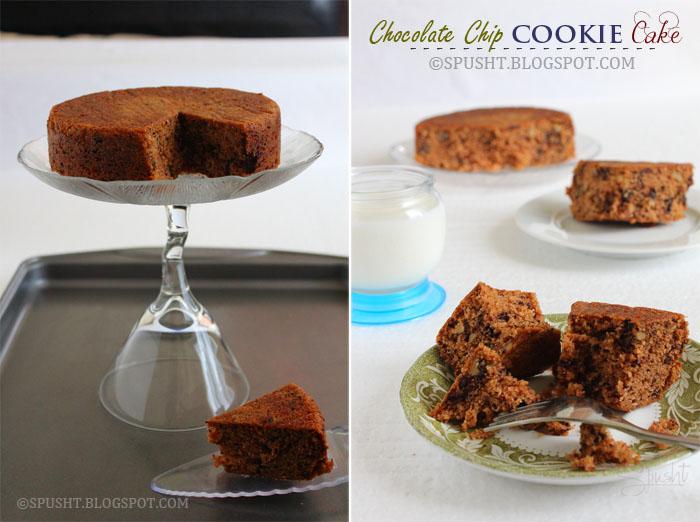 Spusht   Chocolate Chip Cookie Cake