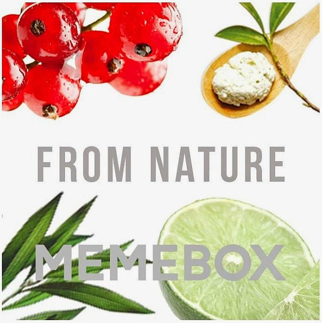Memebox discount, Memebox From Nature, Korean Beauty Box