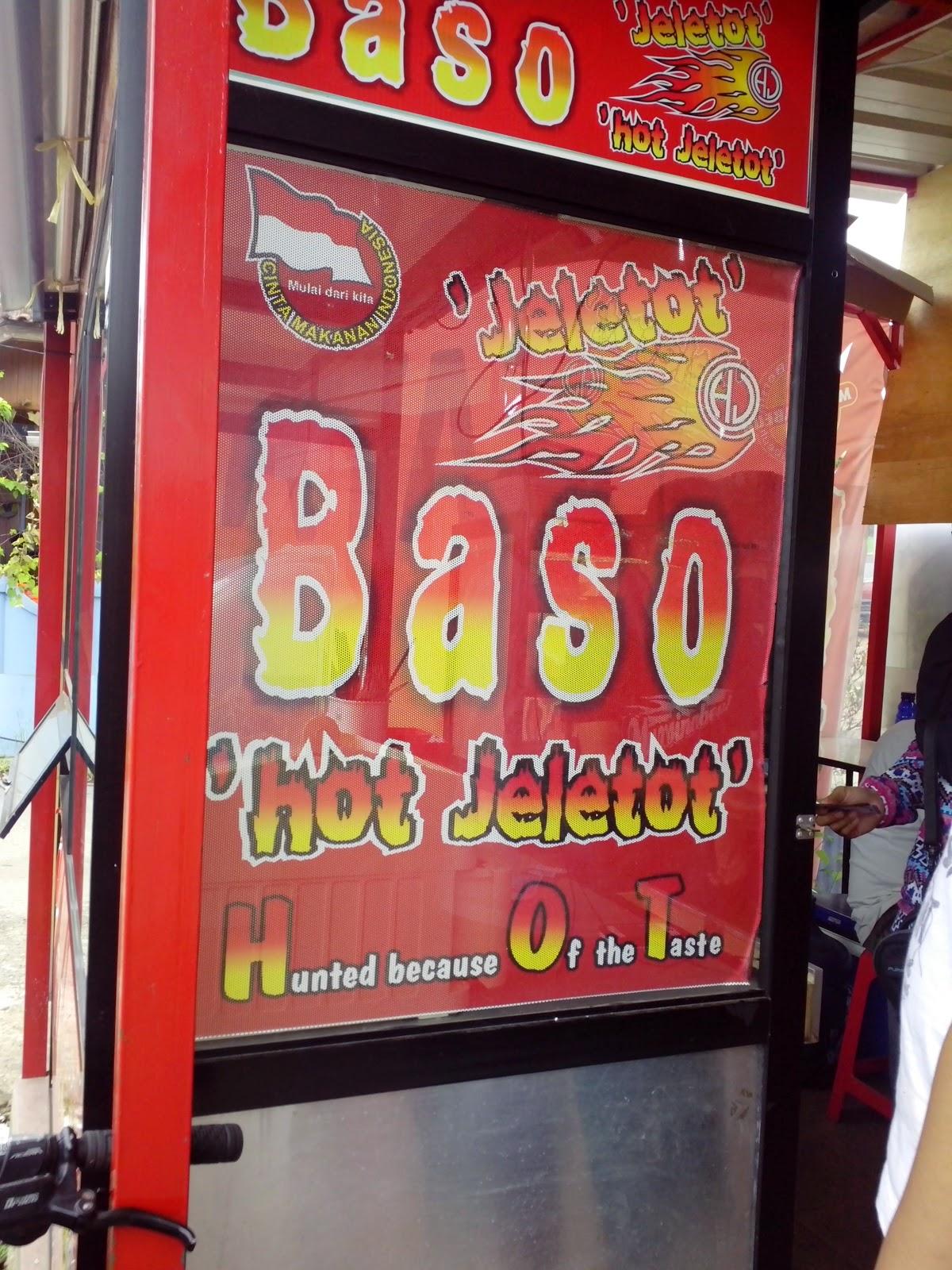 Baso Hot Jeletot Lagi Booming di Bandung