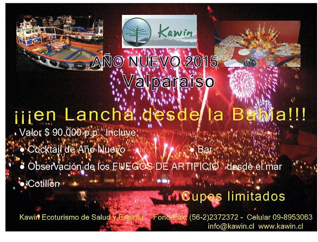 Año Nuevo en Valparaíso 2015.