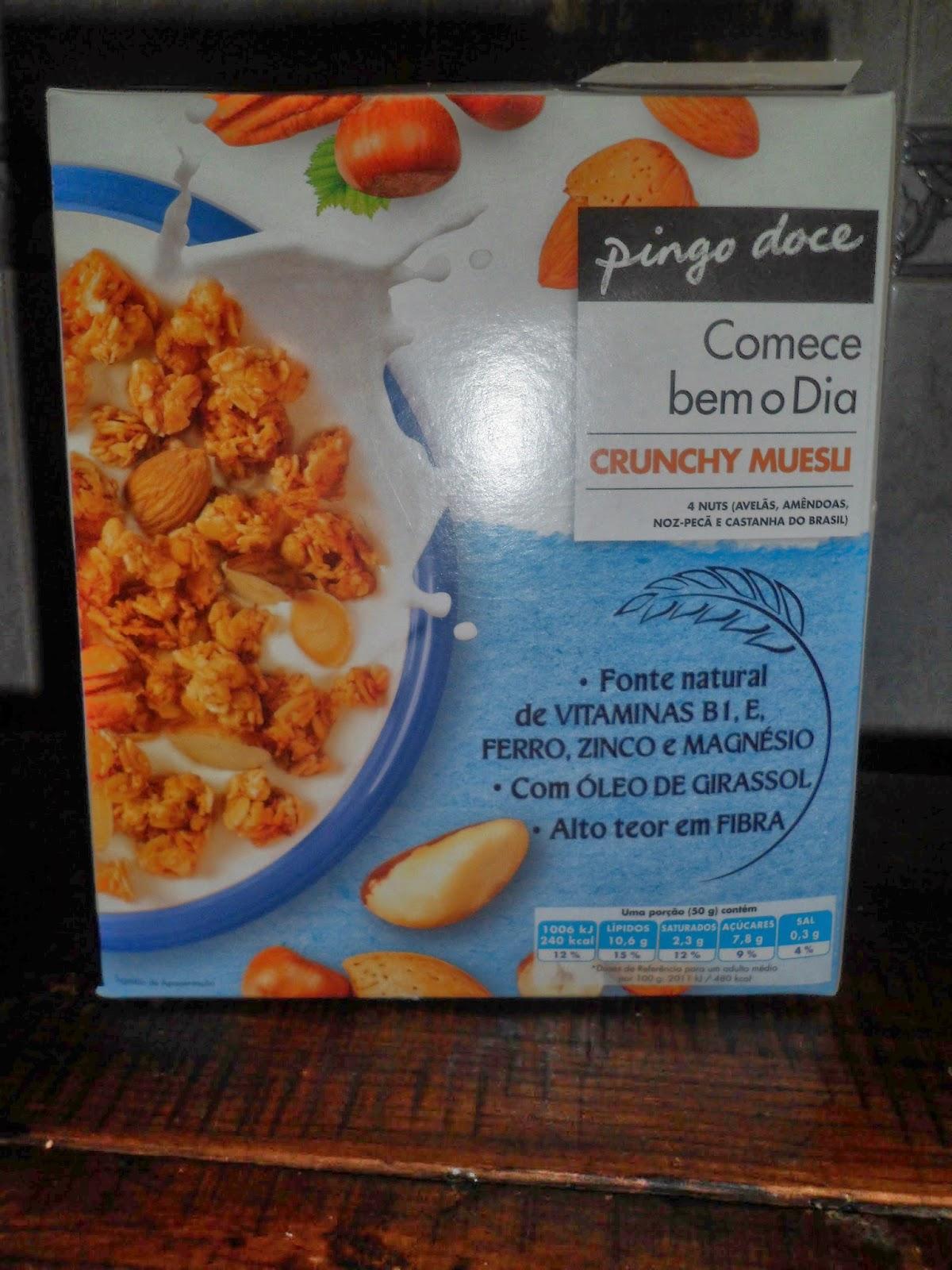 Crunchy Muesli.